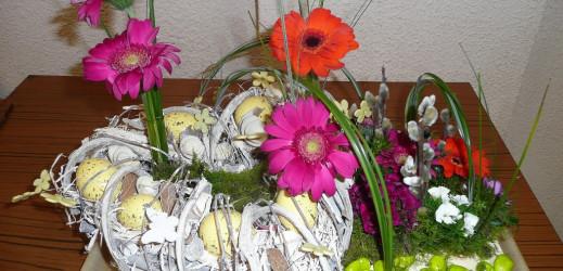 Photos du dernier atelier d'art floral avec José Alvès (mercredi 15 mars).