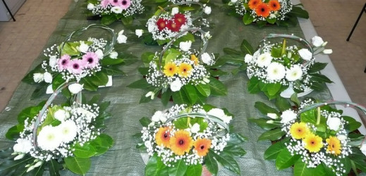 Dernier atelier d' Art Floral ….Les photos !