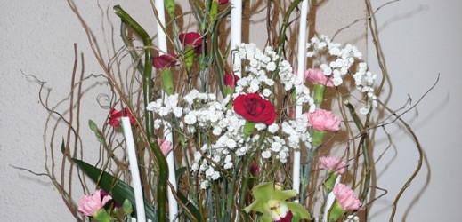 Art floral de Janvier