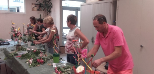 Dernier atelier d'Art Floral…Les photos !