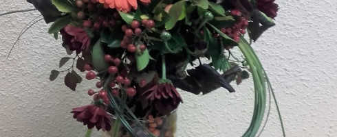 Atelier d' Art Floral du 21 octobre…