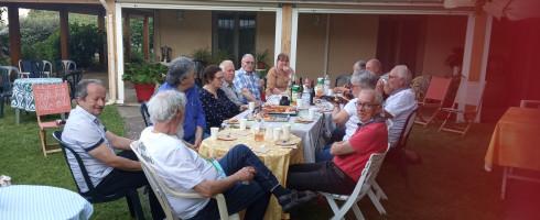 29 mai : Cérémonie de départ de Bernard HUET..Les photos !